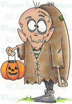 Edgar - Halloween Images - Halloween - Rubber Stamps