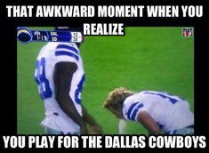 Funny Football Pictures, Funny Football Memes, Funny Nfl, Funny Sports Memes, Nfl Memes, Sports Humor, Funny Memes, Football Humor, Nfl Football