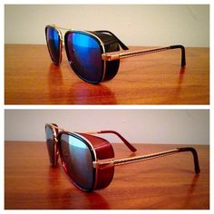 ceef7e32f7 Vintage looking Retro Steampunk Tony Stark Sunglasses by UseReuse on Etsy  Tony Stark Sunglasses