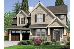 Eplans Craftsman House Plan - Four Bedroom Craftsman - 2470 Square Feet and 4 Bedrooms from Eplans - House Plan Code HWEPL70388