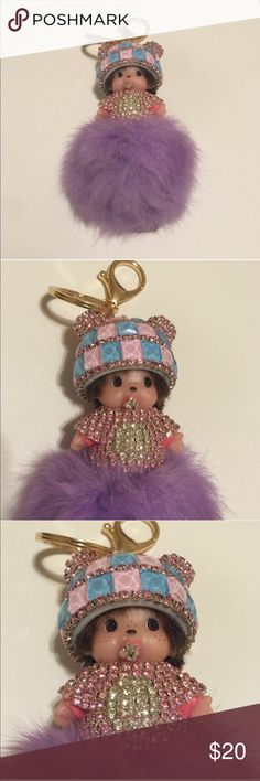 Key chain bag charm Key chain bag charm new in package price is firm unless bundled Accessories Key & Card Holders