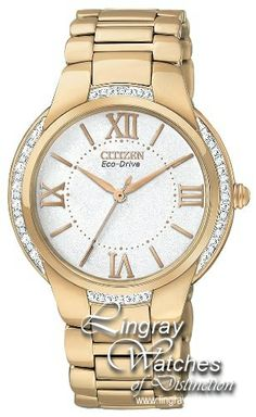 Citizen Ladies Ciena Eco-Drive Watch - EM0093-59A  RRP: £299.00 Online price: £239.00 You Save: £60.00 (20%)  www.lingraywatches.co.uk