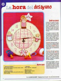 manualidades decorar relojes