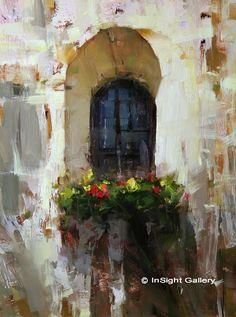 Artist: Tibor Nagy - Title: Backyard Window