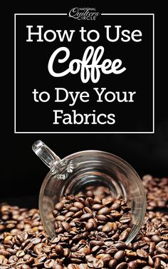 Next time you're thinking about hand dyeing your quilting fabric, head to the kitchen to raid your pantry for dyeing supplies! In this video Heather Thomas shares the steps for using coffee and tea to dye your fabric, and shows several examples of dyed fabric swatches using various flavors and types of coffee and tea.