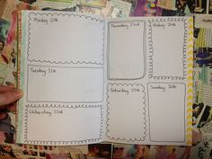 The documented life project--planner pages