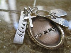 """LOVE this!  A Christmas gift from my mom and my girls.  Mine has a C instead of """"mommy"""". <3"""