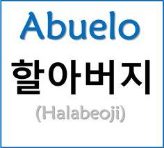 Abuelo Korean Words Learning, Korean Language Learning, Learn Korean Alphabet, Learn Hangul, Korean Writing, Korean Phrases, Korean Lessons, How To Speak Korean, Teaching Strategies