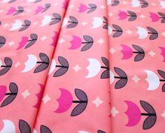 Art Gallery Fabrics Geometric Bliss Vertex Tulips Sweet