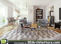3dvisdesign interview to 3darchitettura about 3d,CG and rendering