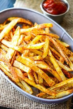 Extra Crispy Oven Baked French Fries by Jen and Emily
