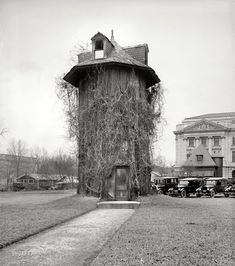 """Washington, D.C., 1923. All it says here is """"Dept. of Agriculture."""" Back when the place was run by the Keebler Elves."""
