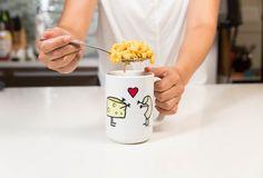 How to Make Homemade Mac 'n' Cheese in a Mug, in 6 Minutes