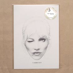 Collage Sketch Crafting Queen A4 by ImagineAndDoHelsinki on Etsy, €11.90
