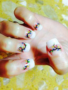 Christmas nails art @ Ocean Nails & Spa. FWB,FL