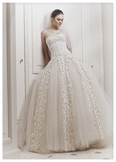 Zuhair Murad #wedding dress designer Fall Winer 2012 collecion http://www.finditforweddings.com