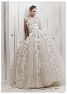 Zuhair Murad #wedding dress designer Fall Winer 2012 collecion http://www.finditforweddings.com