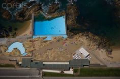 Leca Swimming Pool, designed by Alvaro Siza 1966, Matosinhos, Porto, Portugal