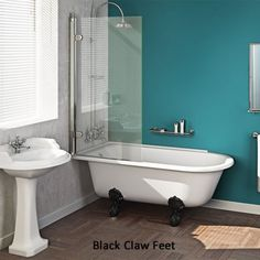 1000 images about home bathroom on pinterest clawfoot roll top bath with shower enclosure