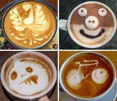"""Creating a memorable piece of latte art is all about the interplay between the milk foam and the """"crema"""" of the espresso."""