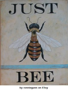 etsy+ronniegunn+just+bee+painting.png 300×400 pixels