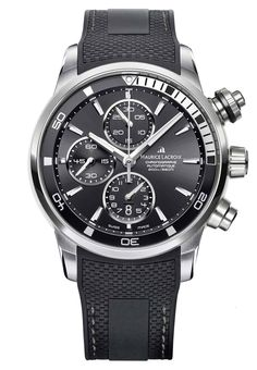 Maurice Lacroix Watch Pontos S #basel-15 #bezel-fixed #bracelet-strap-rubber #brand-maurice-lacroix #case-material-steel #case-width-43mm #chronograph-yes #date-yes #delivery-timescale-call-us #dial-colour-black #gender-mens #luxury #movement-automatic #new-product-yes #official-stockist-for-maurice-lacroix-watches #packaging-maurice-lacroix-watch-packaging #style-sports #subcat-pontos #supplier-model-no-pt6008-ss001-330 #warranty-maurice-lacroix-official-2-year-guarantee…