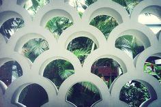 Copacabana Palace Decorative Concrete Blocks, Can Lights, Spring Break, South America, Habitats, Pattern Design, Cruise, Around The Worlds, Exterior