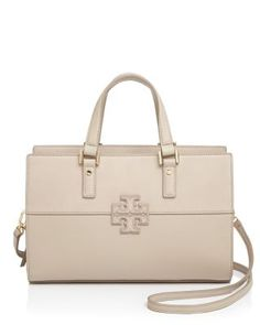 36ac322ce8b8 TORY BURCH T Mixed Material Satchel.  toryburch  bags  shoulder bags  hand
