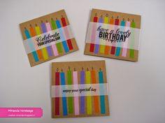 Kaarten maken met washitape. Washi Tape, Special Day, Gift Tags, Birthday Cards, Birthdays, Greeting Cards, Mini, Crafts, Craft Ideas