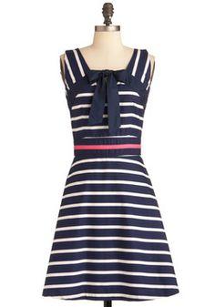 Addicted to stripes! Mod for Mini Dress, #ModCloth