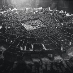 The Map Room in The Maze Runner movie