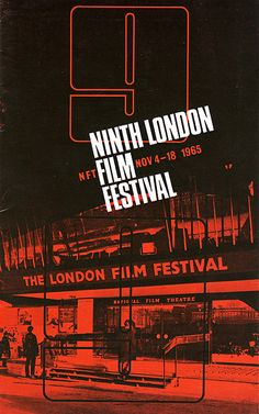 London Film Festival posters, 1957-2010 - Retronaut