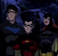 Young Justice Bat Family