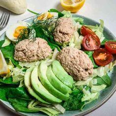 Kaviarrand - Ruths skønne opskrift - Helt op til månen - Healthy Living Recipes, Lchf, Food Inspiration, Cobb Salad, Potato Salad, Tapas, Picnic, Paleo, Brunch