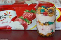 Yogurt and Cereal Parfait and a $15 Giveaway