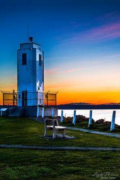 ☆ Lighthouse Sunset :¦: By Steven Lamar ☆
