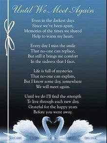 We will be together again heaven quotes, heaven poems, missing my son, missing Life Quotes For Girls, Country Girl Quotes, Life Quotes To Live By, Happy Anniversary Husband, Wedding Anniversary Wishes, Anniversary Quotes, Anniversary Ideas, Missing My Husband