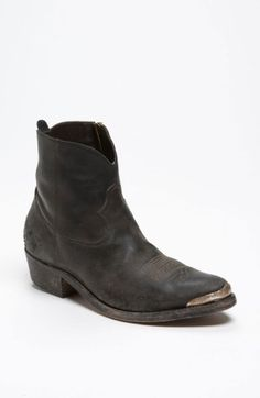 Free shipping and returns on Golden Goose 'Young Western' Boot at Nordstrom.com. A rugged aesthetic distinguishes a Western-cut boot with a lived-in look.