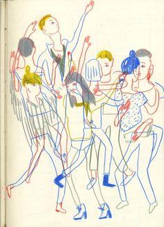 Edith Carron, Wild Geburstag Party, 2011 Journal