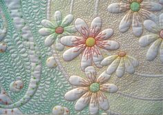 A Fabric Adiction: July 2011 Daisy Quilt by Phillipa Naylor
