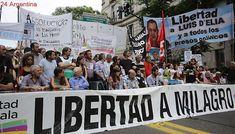 Organizaciones sociales, políticas y de DDHH marchan para reclamar por Milagro Sala