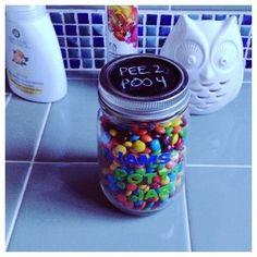 Potty Training Jar