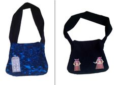 Reversible TARDIS/Dalek Doctor Who Purse/Tote Bag by UpcycleWorld, $24.77