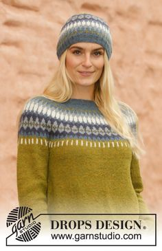 Nordic - Free knitting patterns and crochet patterns by DROPS Design Knitting Designs, Knitting Patterns Free, Free Knitting, Crochet Patterns, Drops Design, How To Start Knitting, Knitting For Beginners, Magazine Drops, Drops Patterns