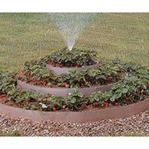 Pyramidal Terraced Garden   Garden Aides   Supplies   R.H. Shumway's.  Works well for strawberries or herbs when gardening space is limited.