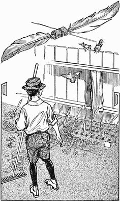 How to Keep Birds Away From Garden - A Garden-Bed Scarecrow ~ What Is - Encyclopedia