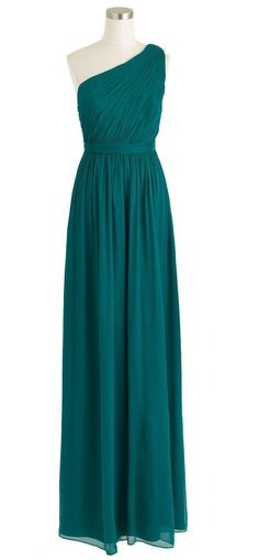 Green Grecian Dress. Not this color but I love the dress!