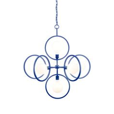 doucet pendant light sapphire by S.H.O for Shine