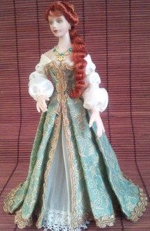 how to: dress and wig pattern and instructions