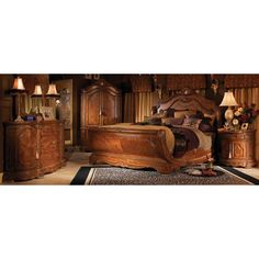 Cortina Sleigh Bedroom Collection - http://delanico.com/bedroom-sets/cortina-sleigh-bedroom-collection-499778062/